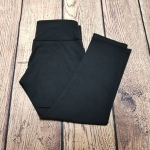 LuLulemon Black Gym Pants Stretch Spandex Sz 6